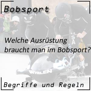 Bobsport Ausrüstung