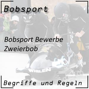 Bobsport Zweierbob
