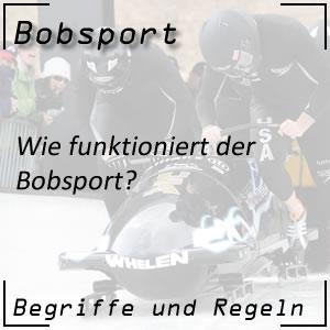 Bobsport Bobfahren