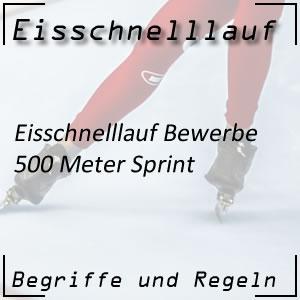 Eisschnelllauf 500 m