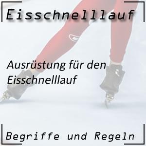 Eisschnelllauf Ausrüstung Rennanzug Klappschuhe