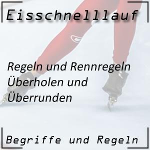 Eisschnelllauf Regeln Überholen