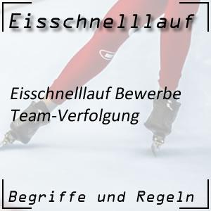 Eisschnelllauf Team-Verfolgung