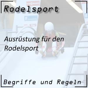 Rodelsport Ausrüstung