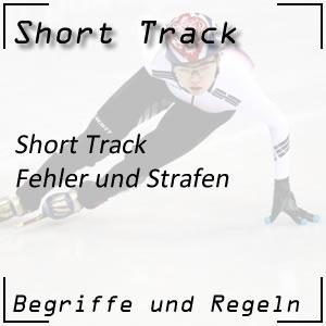 Short Track Strafen