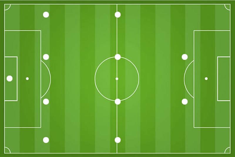 Fußballtaktik 4-4-2