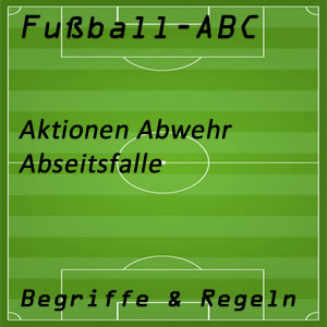 Fußball Abseitsfalle