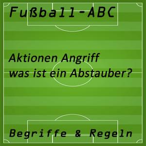 Fußball Abstaubertor