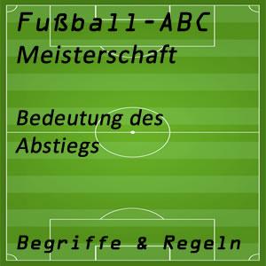 Fußball Abstieg