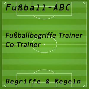 Fußball Co-Trainer