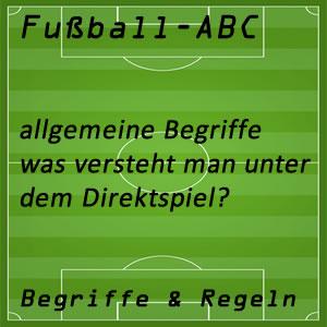 Fußball Direktspiel
