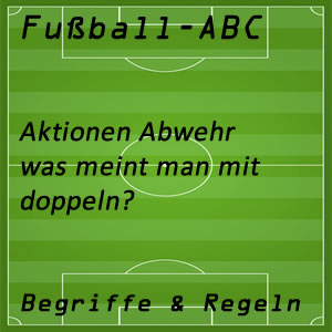 Fußball doppeln