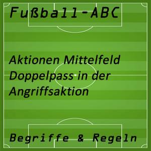 Fußball Doppelpass