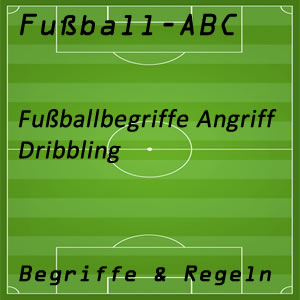 Fußball Dribbling