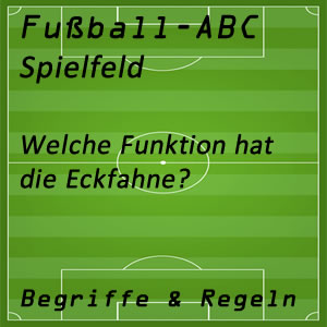 Fußball Eckfahne
