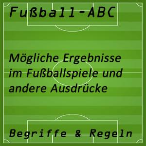 Fußball Spielergebnis
