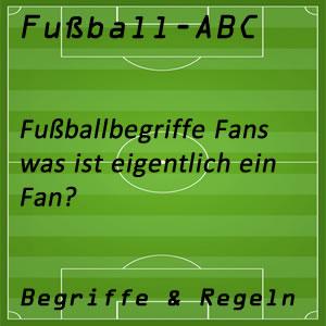 Fußball Begriffe Fußballfan