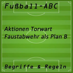 Fußball Faustabwehr