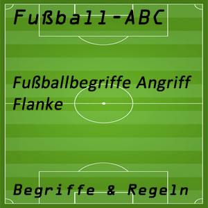 Fußball Flanke