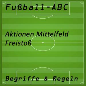 Fußball Freistoß