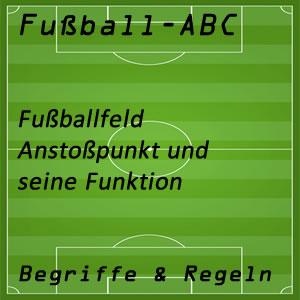 Fußball Anstoßpunkt