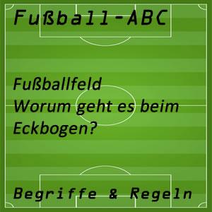 Fußball Eckbogen