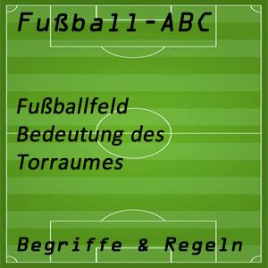 Fußball Torraum