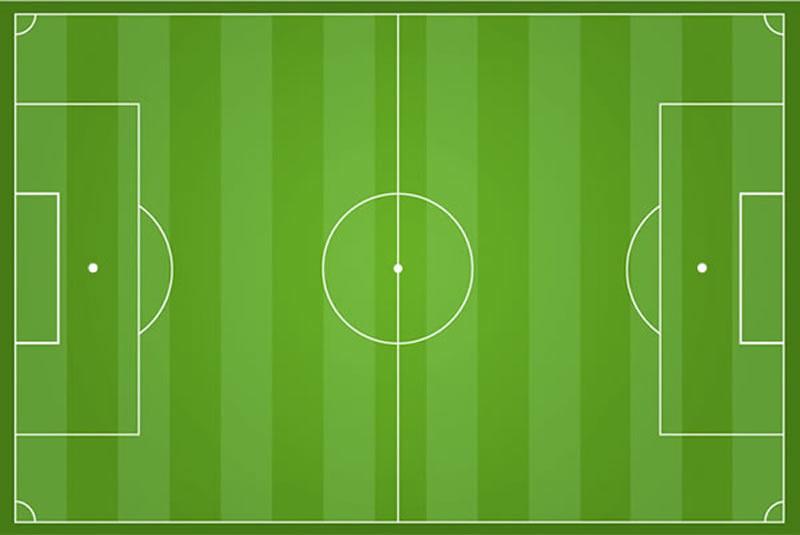 Fußball Fußballfeld