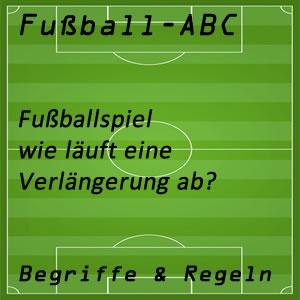 Fußball Fußballspiel Verlängerung