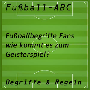 Fußball Geisterspiel