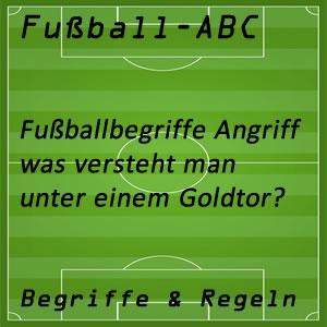 Fußball Goldtor
