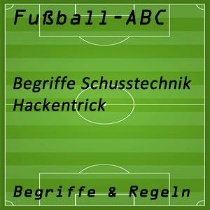 Fußball Hackentrick oder Fersler