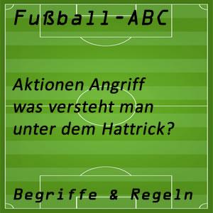 Fußball Hattrick