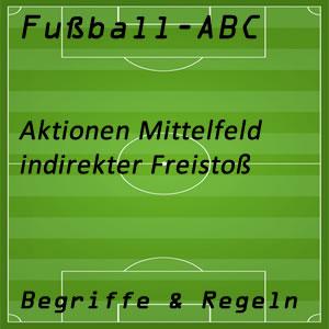 Fußball indirekter Freistoß