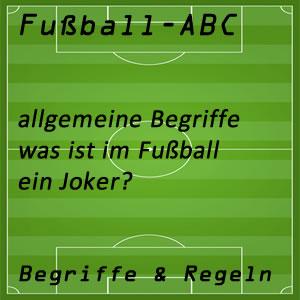 Fußball Joker