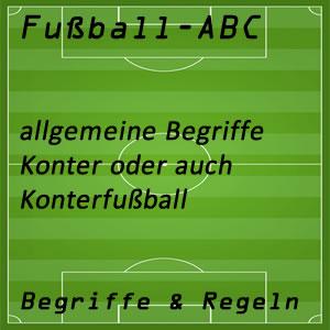 Fußball Konter