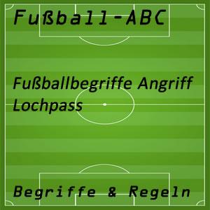 Fußball Lochpass