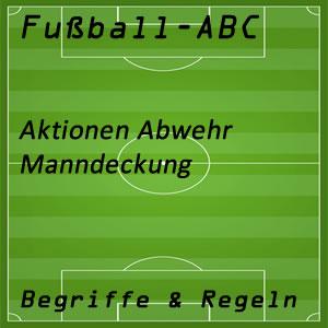 Fußball Manndeckung