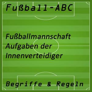 Fußball Innenverteidiger