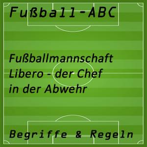 Fußballmannschaft Libero