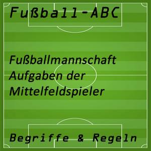 Fußball Mittelfeldspieler