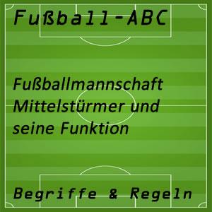 Fußball Mittelstürmer