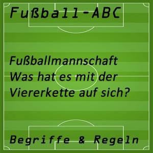Fußball Viererkette