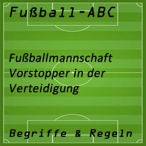 Fußball Vorstopper