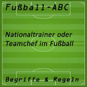 Nationaltrainer im Fußball
