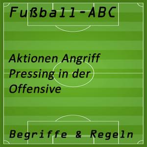 Fußball Pressing