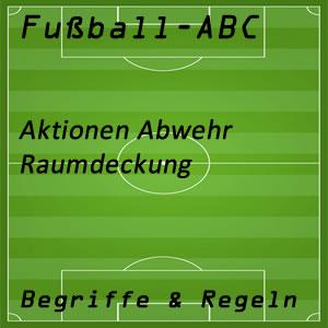Fußball Raumdeckung