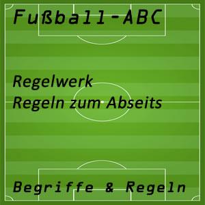 Fußballregeln Abseits