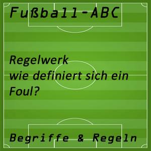 Fußballregeln Foul