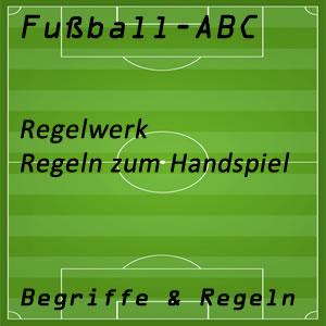 Fußballregeln Handspiel
